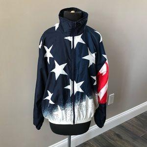 1996 Olympic USA Basketball Champion Jacket Large
